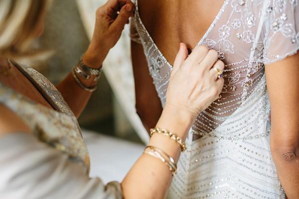 Jenny Packham beaded gown
