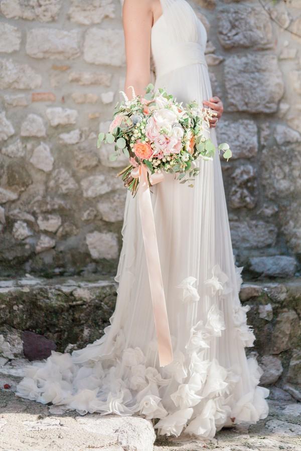 Leila Hafzi bridal gown