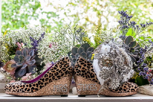 Leopard Print Wedding Shoes
