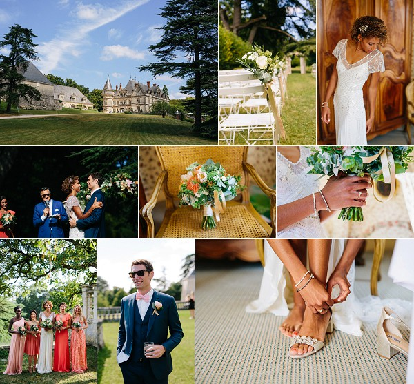 Luxury Chateau de la Bourdaisiere Wedding Snapshot