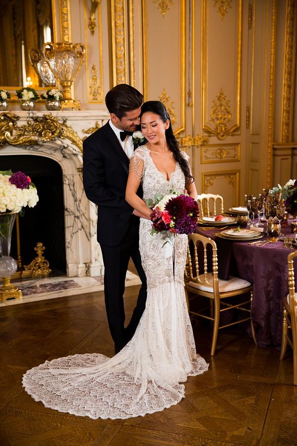 Rich wedding colours