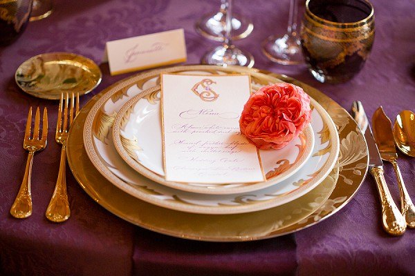 Rose wedding Paris