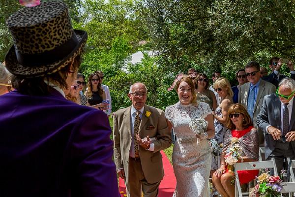 Unique French Wedding