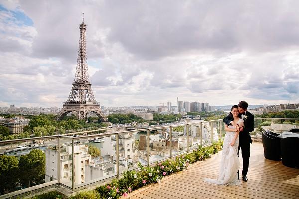 Wedding View Paris