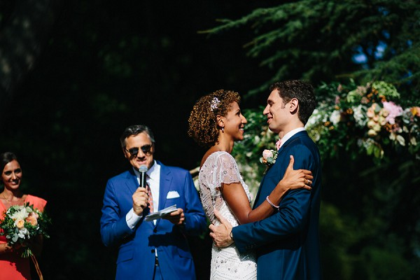 chateau outdoor ceremony