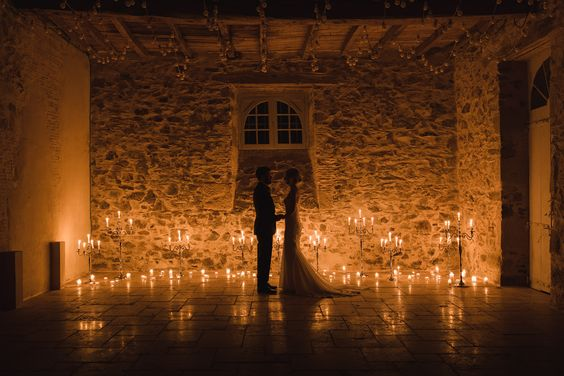 evening wedding filled with lights, image by Glass Slipper Photography
