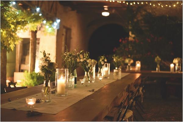 evening wedding party ideas