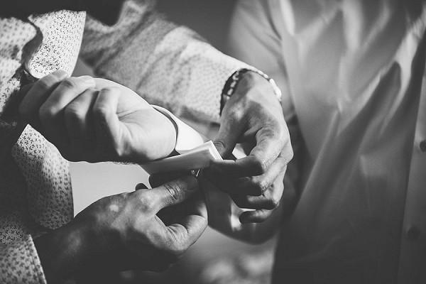 groom preperations wedding
