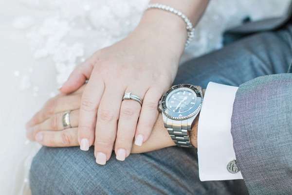 groom wedding day watch