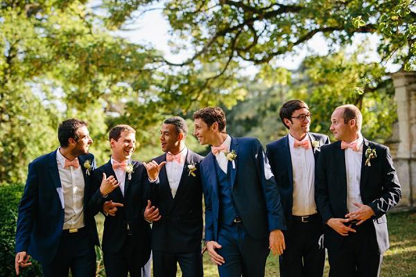 groomsmen group shot