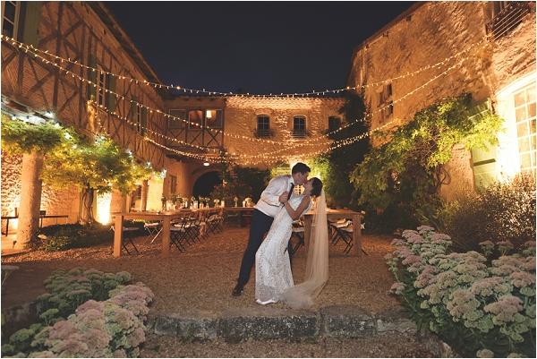 informal fairytale wedding Chateau France