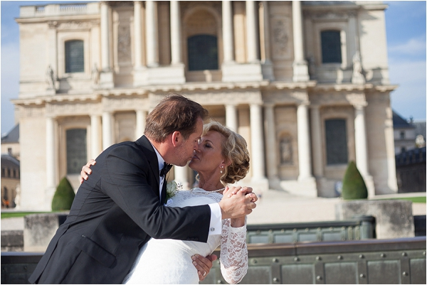intimate wedding photography in Paris