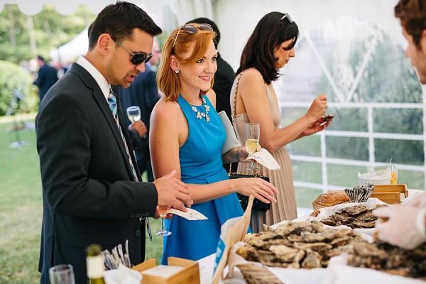 oyster wedding reception