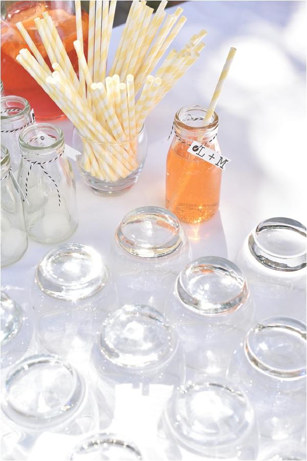 refreshing wedding drink ideas   Image by Awardweddings