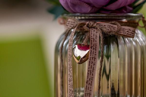 rose gold DIY wedding details
