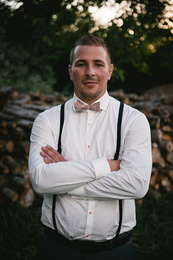 vintage inspired grooms outfit