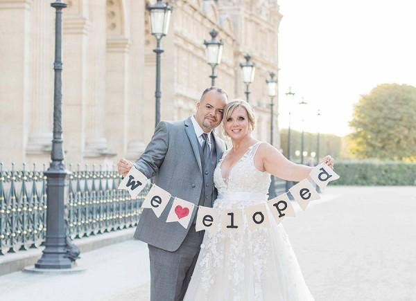 we eloped sign