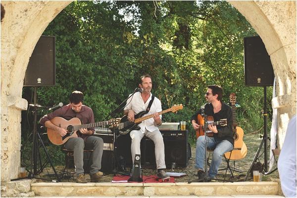 wedding band in South West France   Image by Awardweddings