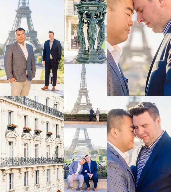 Chic Parisian Couple Shoot Snapshot