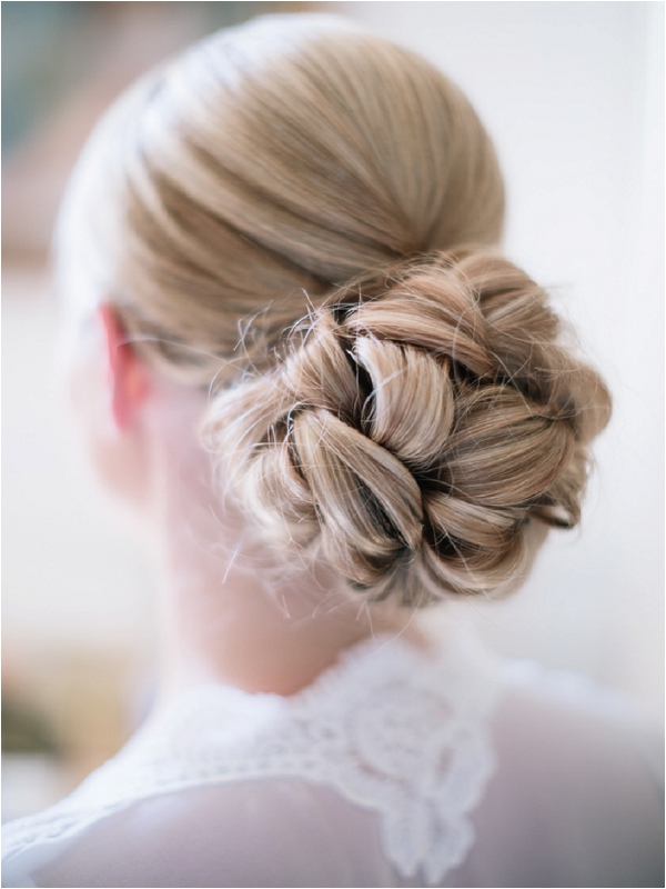 Classic wedding day hair | Image by Ian Holmes Photography