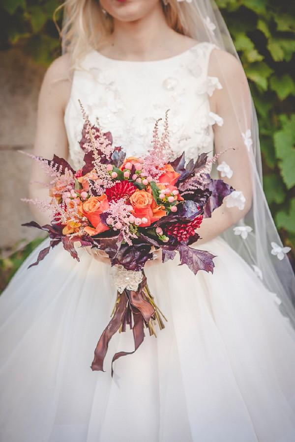 Deep orange bouquet