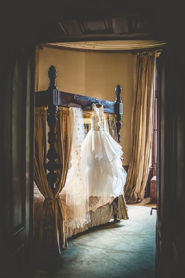 Elegant wedding gown