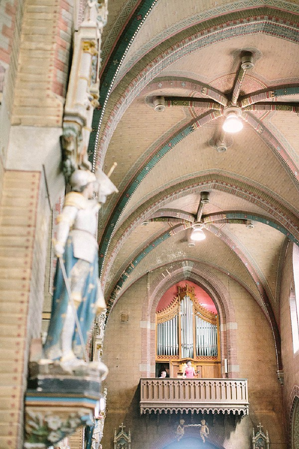 French church large wedding