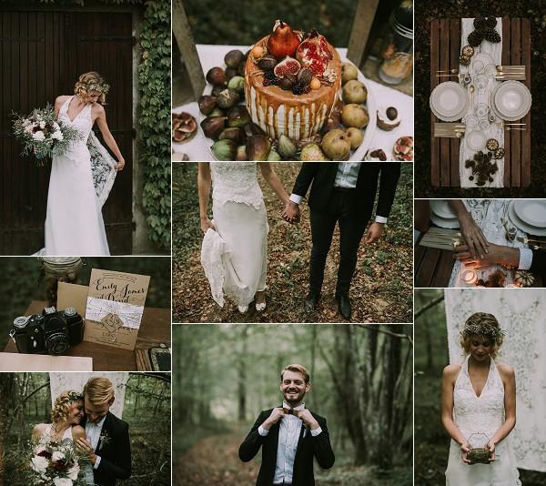 Vintage Wedding Inspired Styled Shoot Snapshot