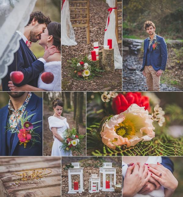Woodland Inspired Wedding Styled Shoot Snapshot