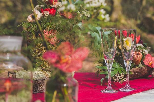 Woodland Inspired Wedding Styled Shoot