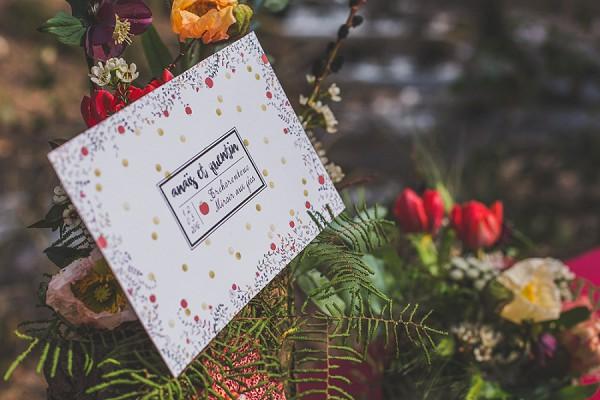 Woodland Inspired Wedding stationary