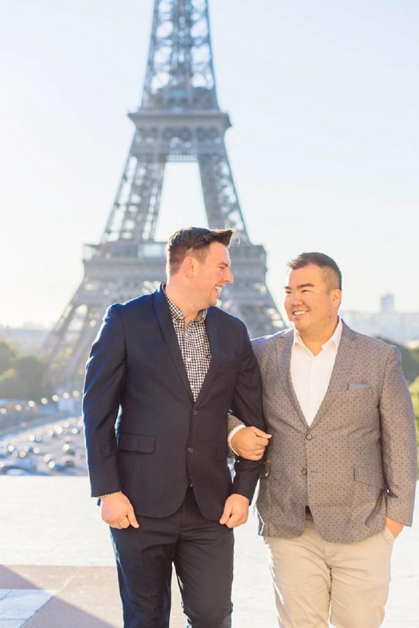 anniversary couple shoot Paris