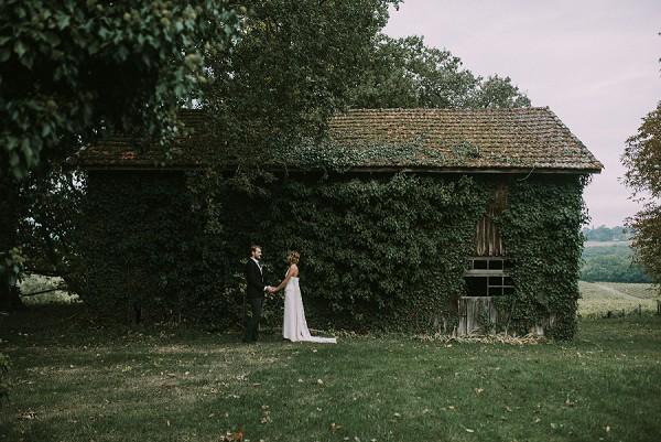 barn wedding France