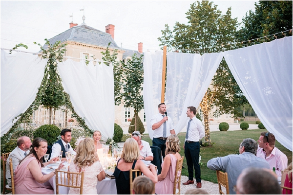 creating outdoor wedding space | Image by Ian Holmes Photography