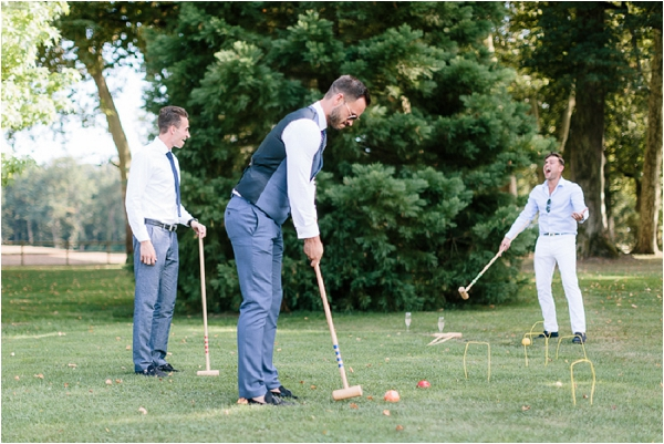 croquet at weddings | Image by Ian Holmes Photography