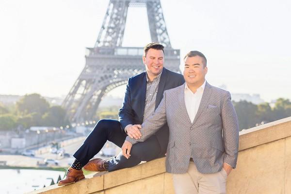 dapper groom Paris