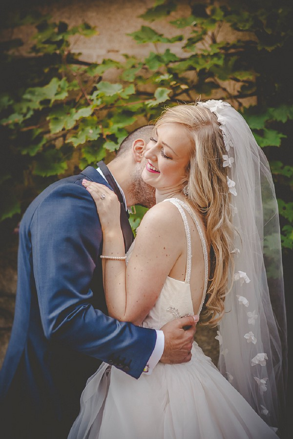 flower wedding veil