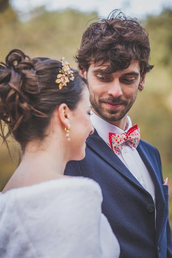 groom bow tie wedding