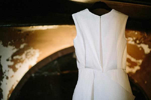 highneck wedding dress