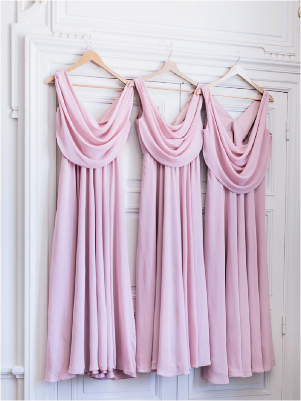 pink bridesmaids dresses | Image by Ian Holmes Photography