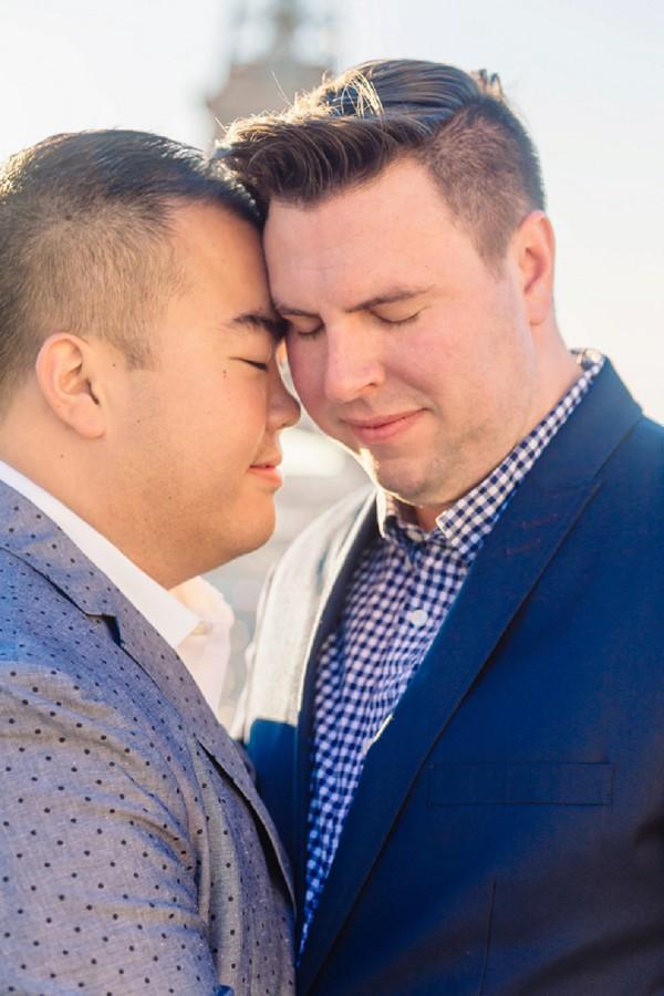 post wedding couple shoot