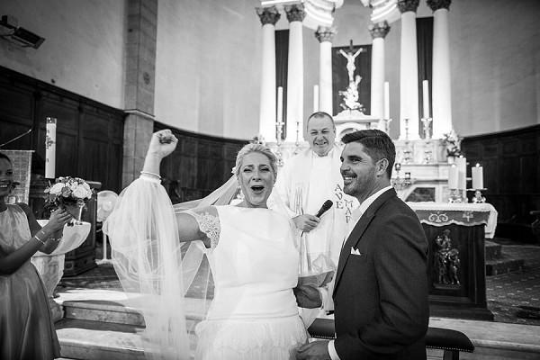 religious french wedding