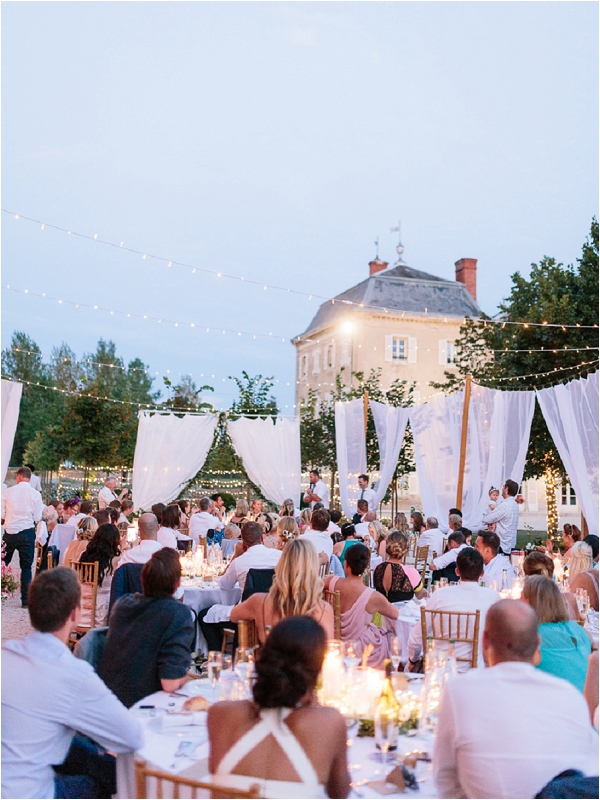 romantic outdoor wedding space in France | Image by Ian Holmes Photography