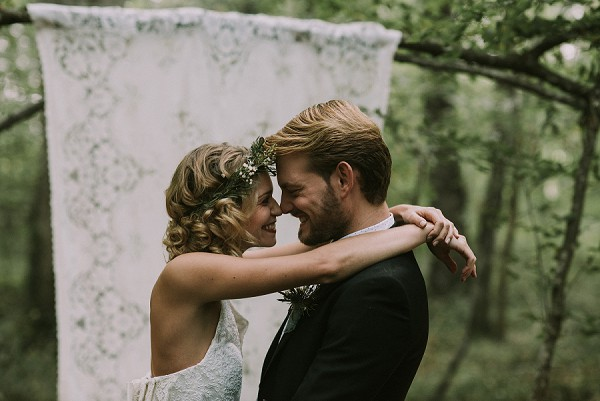 rustic flower crown inspiration