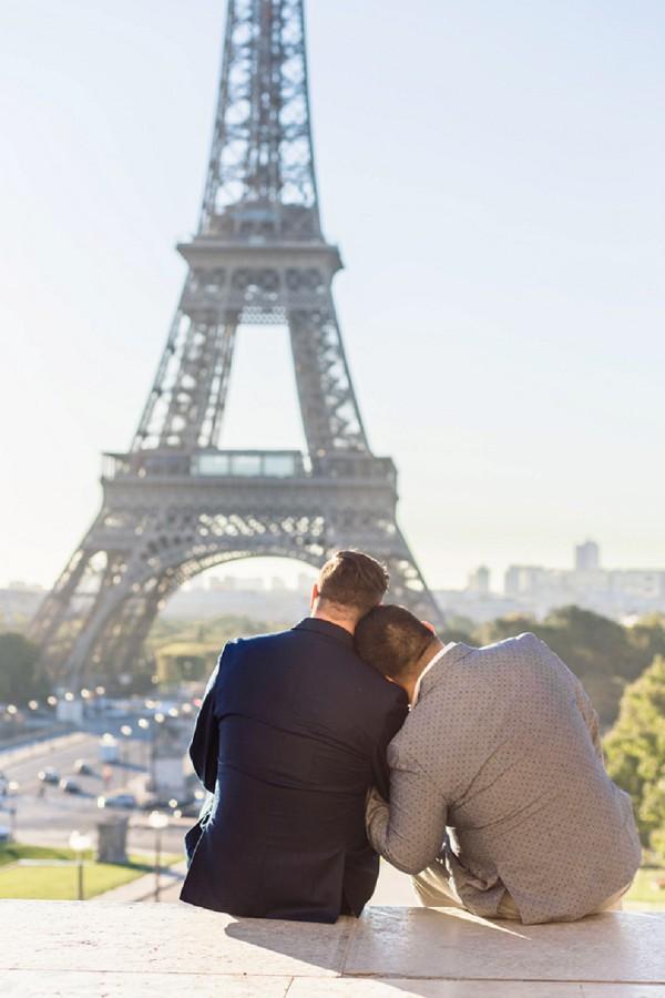 sweet couple session Paris