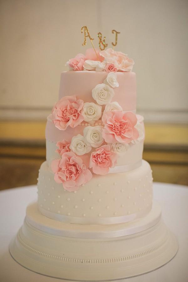 three tier wedding cake France