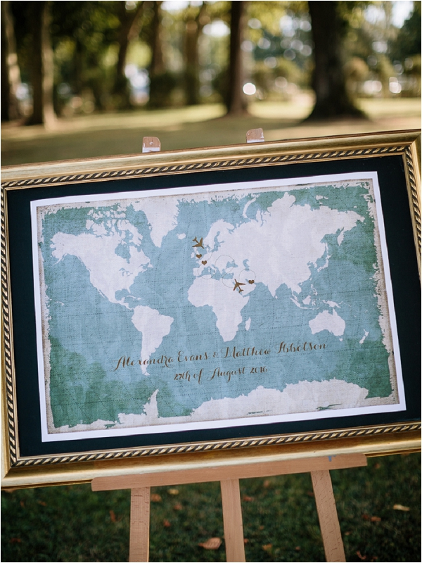 travel themed wedding stationery | Image by Ian Holmes Photography