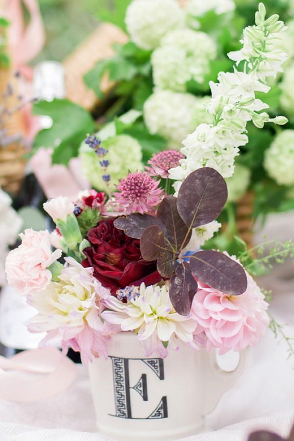 wedding blooms pink