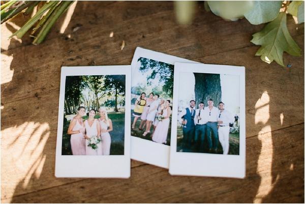 wedding day polaroids | Image by Ian Holmes Photography
