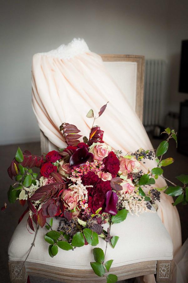 A Rich Autumn Inspired Bouquet